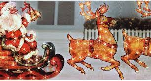 outdoor santa and reindeer decorations outdoor designs