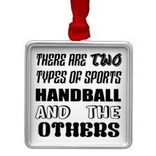 for the handball player ornaments keepsake ornaments zazzle