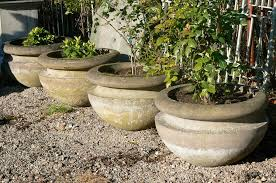 diy large concrete planters decoration u0026 furniture best stone