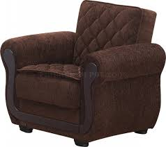 sofa bed convertible brown fabric w optional items