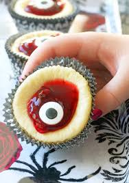 bloody eyeball cheesecakes foodtastic mom