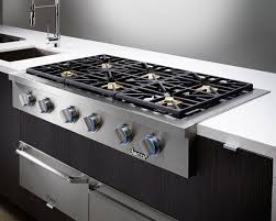 Viking 6 Burner Gas Cooktop Kitchen Best Viking Vgsu5366b 36 Inch Gas Cooktop With Continuous