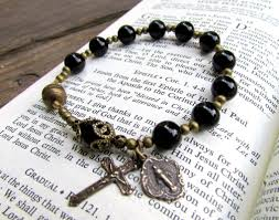 catholic bracelets a handmade catholic rosary bracelet for men and women the vintage