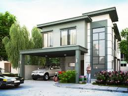 this design is a two story house with 4 bedrooms including the