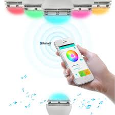 recessed lighting bluetooth speaker 4 products that show led light bulbs audio can play beautiful