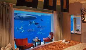 chambre aquarium atlantis the palm dubai les plus beaux hôtels du monde