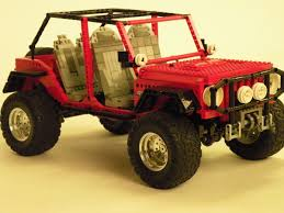 lego jeep instructions lego ideas jeep wrangler jk 4 door offroader