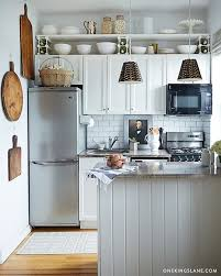 Ways To Decorate Awkward Space Above Kitchen Wall Cabinets - Above kitchen cabinet storage