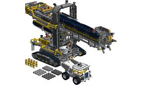 lego technic bucket wheel excavator 42055 bucket wheel excavator mods and improvements lego