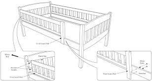 Assembly Instructions Of Cinnamon Futon Bunk Bed How To Assemble - Guard rails for bunk beds