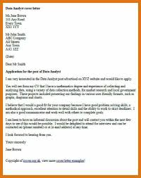 data analyst cover letter data analyst resume examples marketing