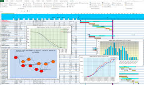 Gantt Spreadsheet Free Excel Gantt Charting And Project Planning Ganttdiva Is A