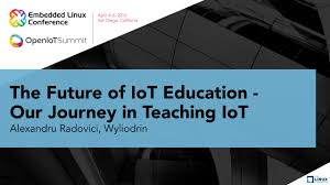 home design for the future the future of iot education our journey in teaching iot by