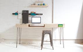 Desk With Printer Storage Build A Stylish Modern Desk With Flip Up Storage Make