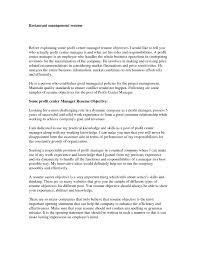 Resume Sample Restaurant Manager by Restaurant Manager Resume Objective Free Resume Example And