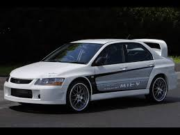 mitsubishi evolution 2005 mitsubishi leak plans for electric evo lancer electric vehicle news