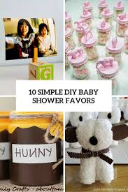 easy baby shower favors 10 simple and to make diy baby shower favors shelterness