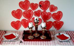 valentine u0027s day decorations romantic table settings for two