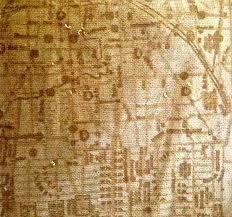 Map Fabric Map Of Paris Dress In Landscape