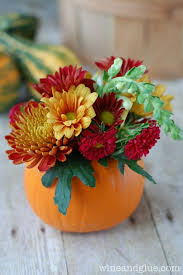 diy thanksgiving centerpiece wine glue