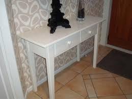 White Hallway Table White Hallway Table