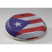 Puertorican Flag Remo Skyndeep 7 15 U0026quot Bongo Head Puerto Rican Flag And More