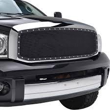 Dodge Ram Truck Grills - 06 08 dodge ram 1500 06 09 2500 3500 evolution stainless steel