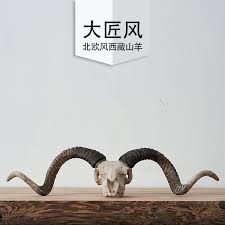 Goat Home Decor Goat Home Decor Skull Resin Cabochon Decoration Accessories Boer