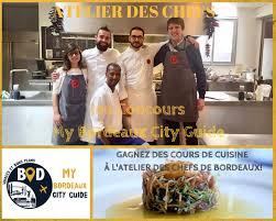 jeu concours gagnez 4 cours de cuisine à l atelier des chefs bordeaux