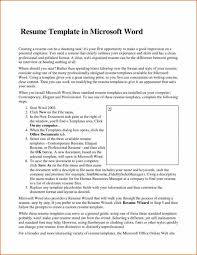 ms office 2007 resume templates the awesome resume in ms word