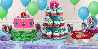 Cupcake Decorating Party Little Mermaid Cake Supplies Little Mermaid Cupcake U0026 Cookie