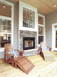 Sided Outdoor Fireplace - two sided gas fireplace indoor outdoor 2 sided gas fireplace