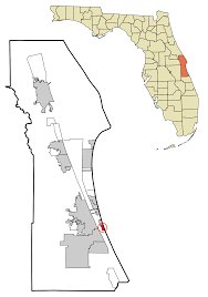 State Of Florida Map by Melbourne Beach Florida Wikipedia