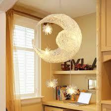 lumiere chambre enfant pas cher lune pendentif le pour enfants chambre bande