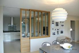 cloison vitree cuisine salon separation cuisine ouverte sur le sejour ideeco cloison newsindo co