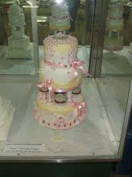 Decorating Cake Dummies Pink U0026 Green Wedding Cake Part Dummy Cake Cakecentral Com