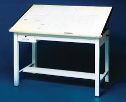 Mayline Ranger Drafting Table Mayline Ranger 4 Post Table Gs Direct Inc