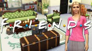 friends tv show phoebe u0027s apartment the sims 4 speed build