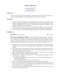 Good Resume Objectives College Students by Resume Summary For College Student Resume For Your Job Application