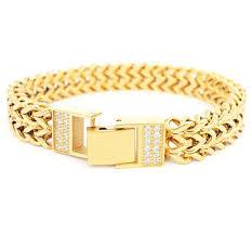 rose gold hand bracelet images 2018 titanium stainless steel 18k yellow rose gold silver men wide jpg