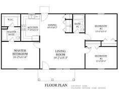 1500 square foot ranch house plans traditional style house plan 3 beds 2 00 baths 1100 sq ft plan 17