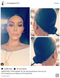 what is a doobie hairstyle kim kardashian s bobby pin hairstyle is coming under fire for