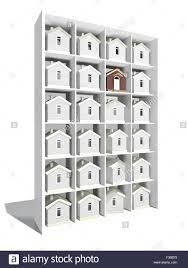 house models on the rack for your choise stock photo royalty free