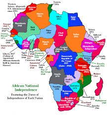 africa map by year map of africa a writing vice