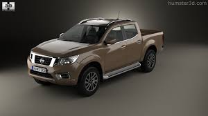 nissan pickup 2015 360 view of nissan navara double cab 2015 3d model hum3d store