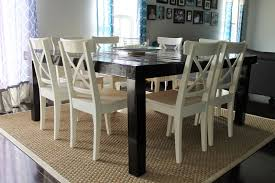 embrace the crazy life a square dining table