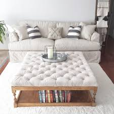 How To Make An Ottoman From A Coffee Table Tufted Coffee Table Diy Minimalist Home Design Pinterest