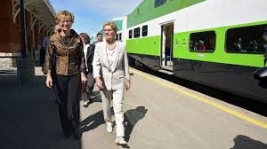 Airways Transit Kitchener - province will deliver two way all day go train service wynne