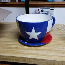 find more texas teacup planter for sale at up to 90 off