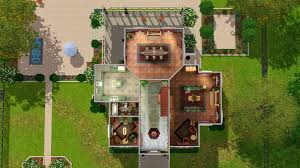 100 sims 3 floor plans mansion mod the sims the president